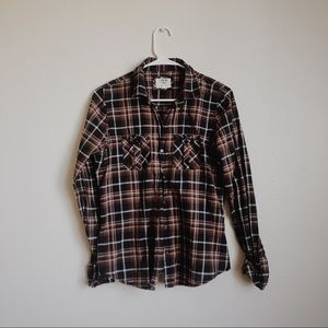 H81 forever 21 plaid top